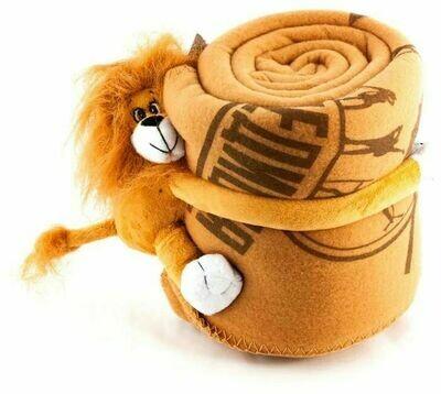 Плед-игрушка флисовый