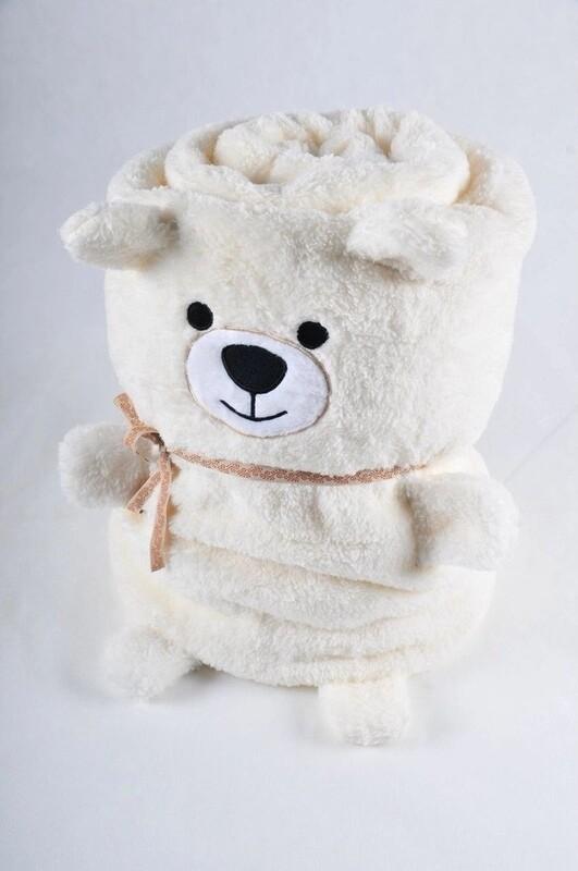 Плед Soft Symbols игрушка большой Медведь