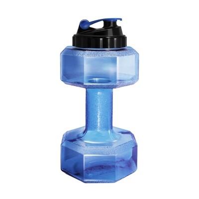 Бутылка-гантеля для воды Be First без логотипа 2200 мл