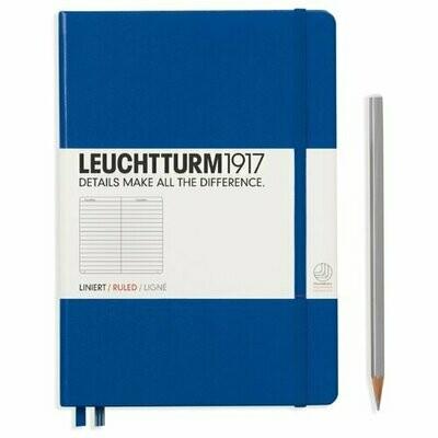 Блокнот Leuchtturm1917 (королевский синий) A5, 124 листа