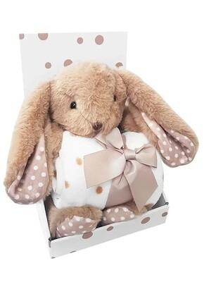 Плед Uviton Набор с игрушкой Bunny