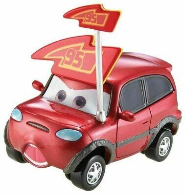 Легковой автомобиль Mattel Тачки 2 Тимоти Творстрок