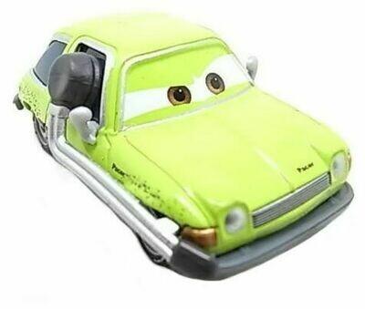 Легковой автомобиль Mattel Тачки Эйсер с гарнитурой
