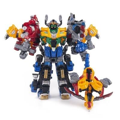 Трансформер YOUNG TOYS Metalions Barbarian King Mini