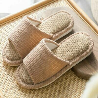 Тапочки с открытым носком