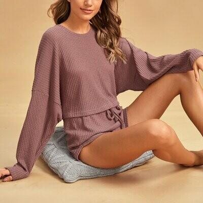 Однотонная пижама