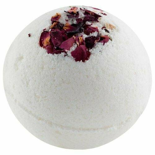 MI&KO Бурлящий шарик для ванн Роза, 185 г