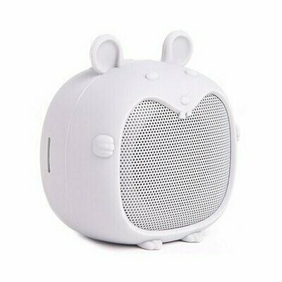Портативная акустика Atom BS-02 mouse светло-серый