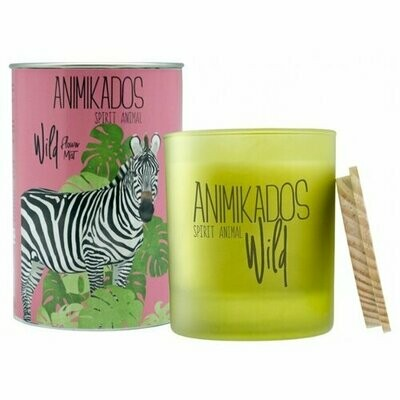 Свеча Ambientair Animikados Wild Zebra Flower Mist