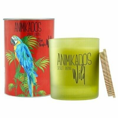 Свеча Ambientair Animikados Wild Citrus Paradise (VV040CPAW) красный