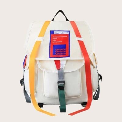 Мужской контрастный рюкзак
