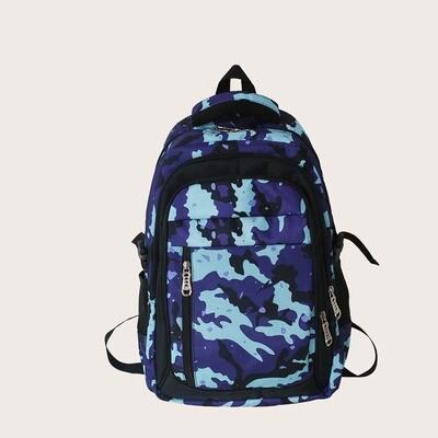Мужской рюкзак с камуфляжным принтом
