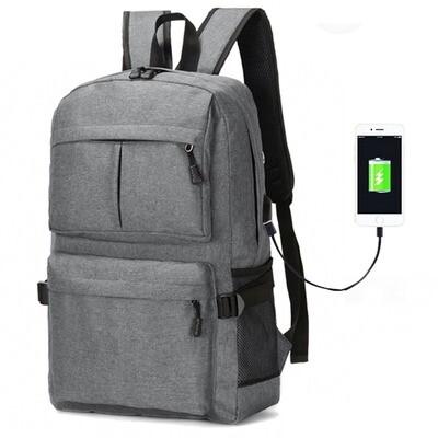 Мужской рюкзак с портом USB