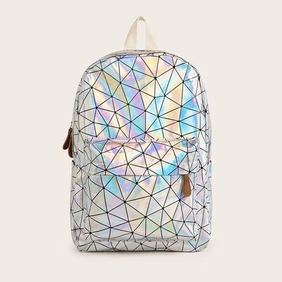 Рюкзак с геометрическим узором