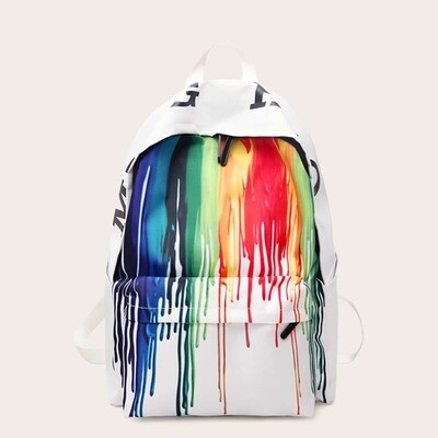 Рюкзак с ярким принтом