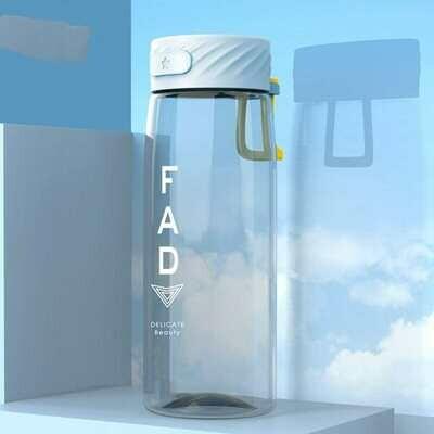 Прозрачная бутылка для воды из тритана