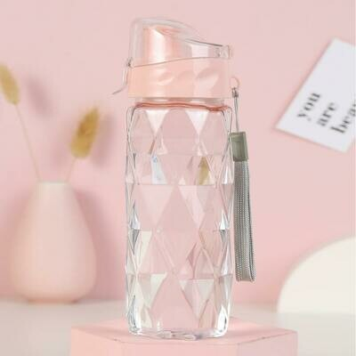 Портативная прозрачная бутылка для воды