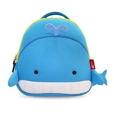 Рюкзак MyPicla голубой кит