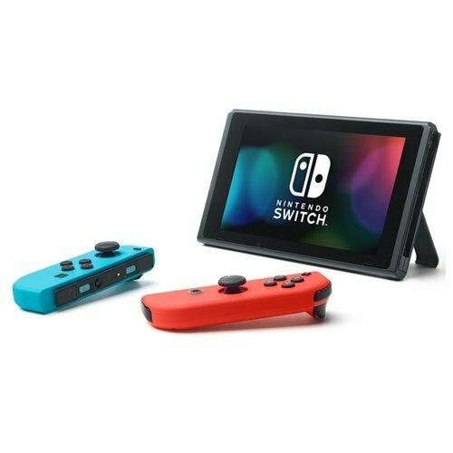 Игровая приставка Nintendo Switch 32 ГБ красный/синий