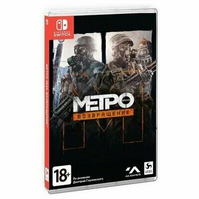 Игра для Nintendo Switch Metro 2033 Redux