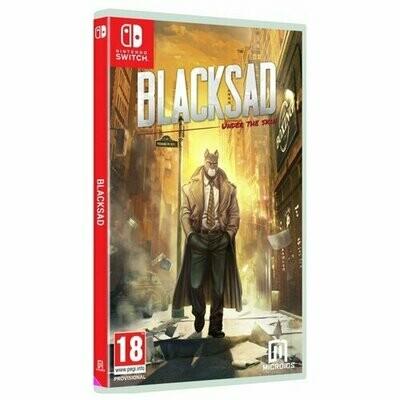 Игра для Nintendo Switch Blacksad: Under The Skin. Ограниченное издание