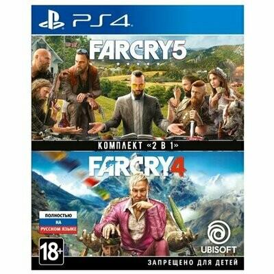Игра для PlayStation 4 Far Cry 4 + Far Cry 5