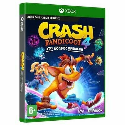 Игра для Xbox ONE Crash Bandicoot 4: Это Вопрос Времени