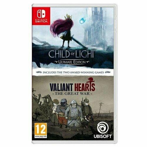 Игра для Nintendo Switch Комплект Child of Light Ultimate Edition + Valiant Hearts