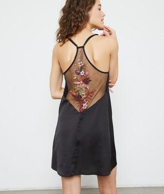 JAMIL Ночная сорочка с вышивкой на спине