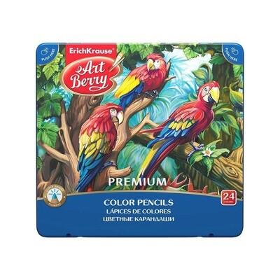 ErichKrause Цветные карандаши Artberry Premium 24 цвета