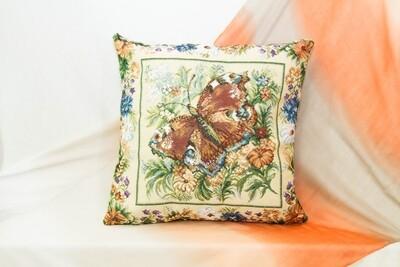 Гобеленовая наволочка 50x50 декоративная