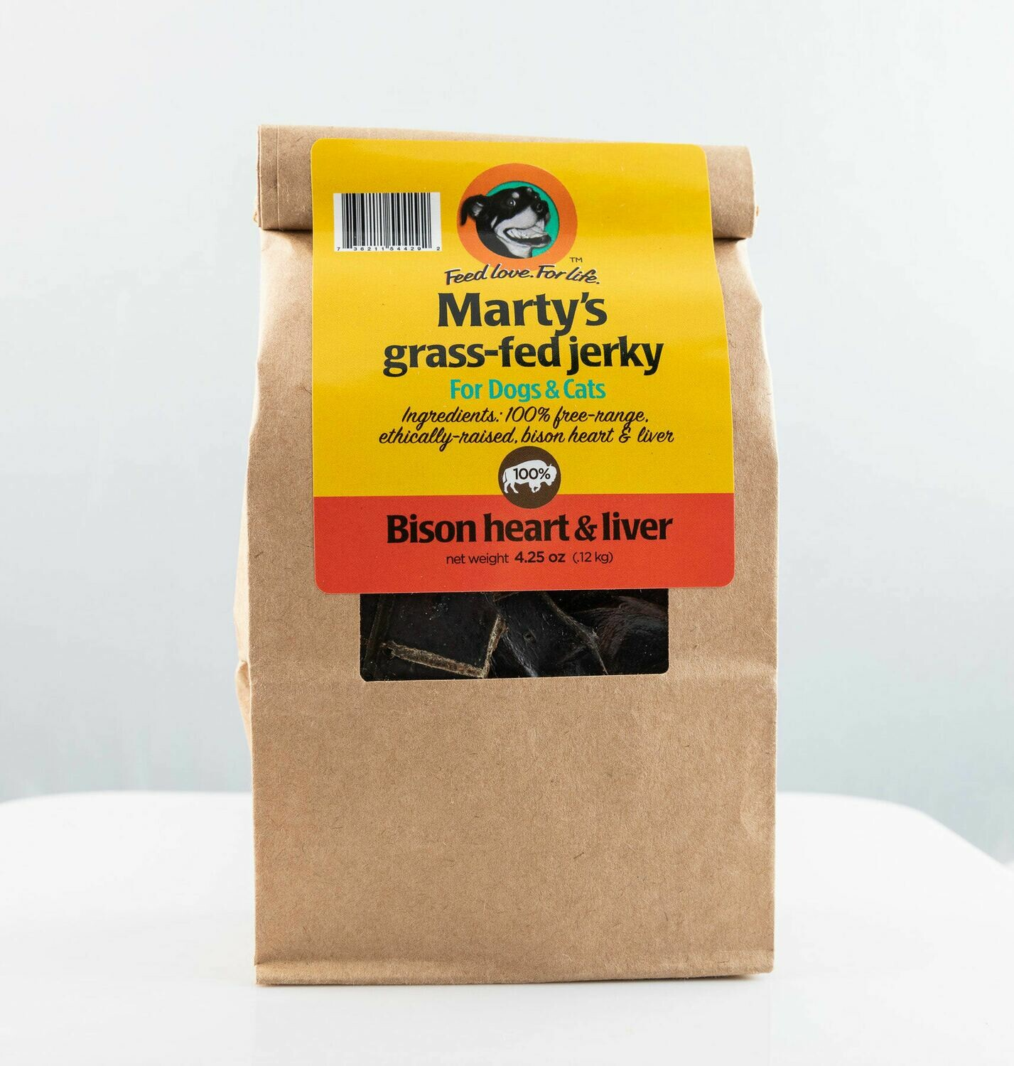 Grass-Fed Heart/Liver Jerky