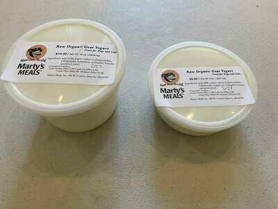 Raw Goat Yogurt