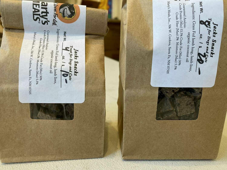 Jack's Snacks Lamb Heart/Lung/Liver  Treats