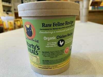 Whole Ground Organic Chicken Cat Recipe