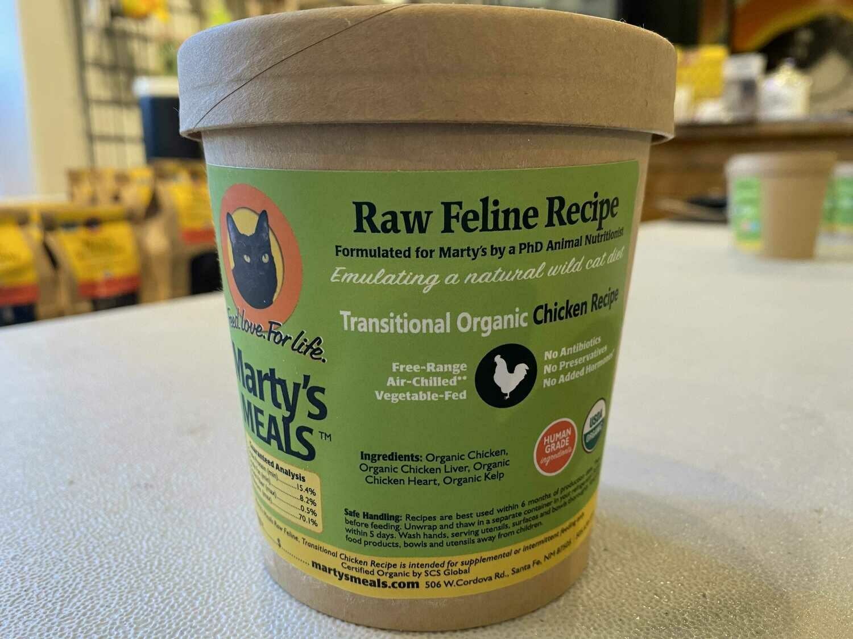 Whole Ground Organic Chicken Transitional Cat Recipe