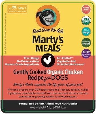 Gently Cooked Organic Chicken