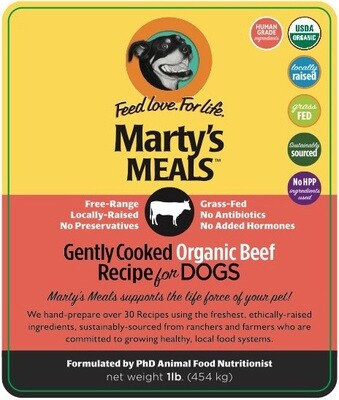 Gently Cooked Organic Beef