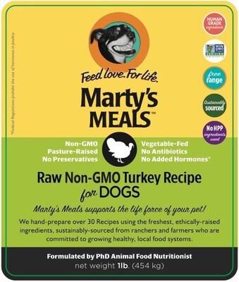 Raw Non-GMO Turkey