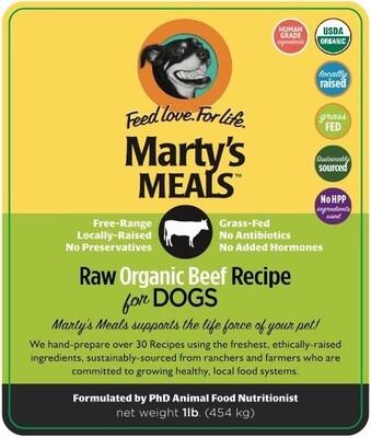 Raw Organic Beef