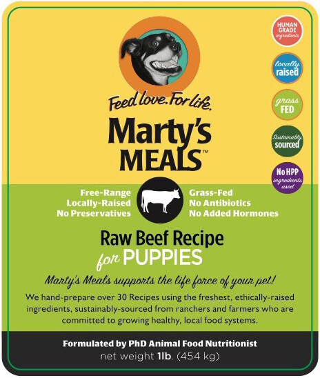 Raw Beef for Puppies