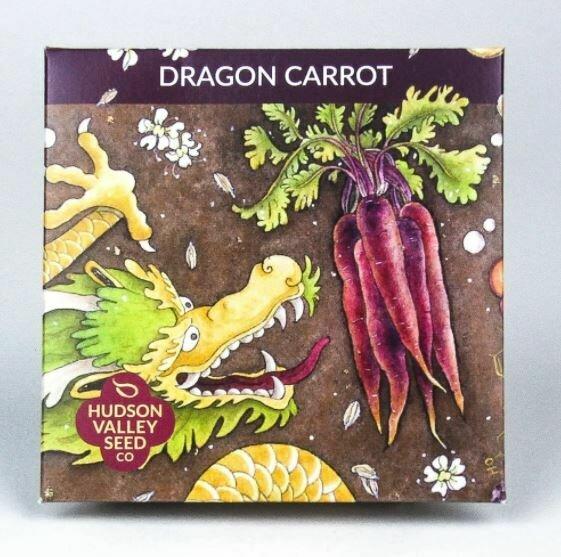 Art Pack Seeds: Carrot 'Dragon'