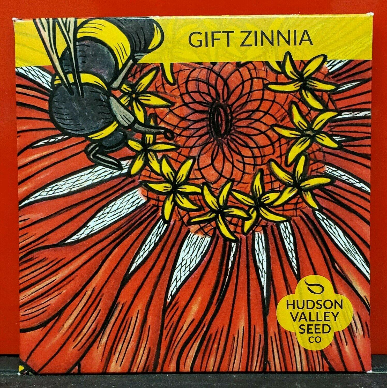Art Pack Seeds: Zinnia 'Gift'