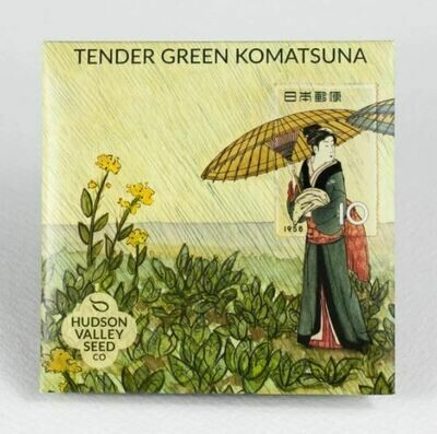 Art Pack Seeds: Komatsuna/Mustard-Spinach 'Tendergreen'
