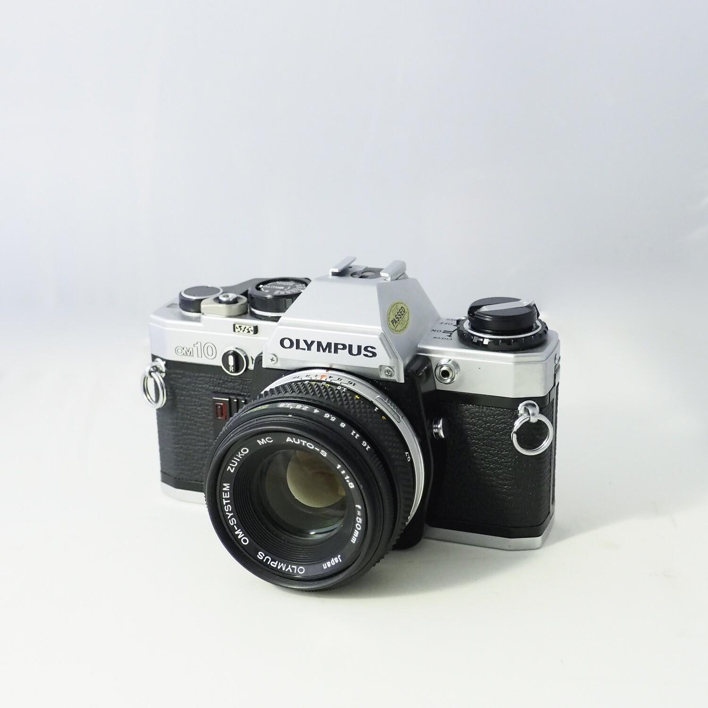 Olympus OM10 + Zuiko 50mm f:1.8