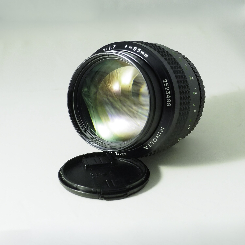 Minolta 85mm f:1.7