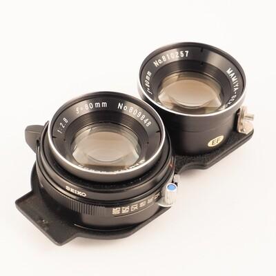 Mamiya Sekor 80mm f/2.8 Blue Dot
