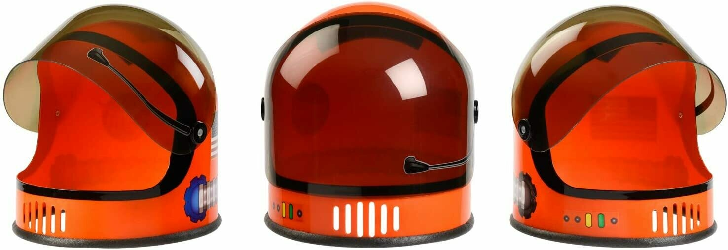 Astronaut Helmet- Orange