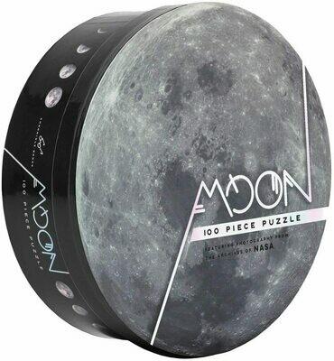 100 Piece Moon Puzzle: Nasa