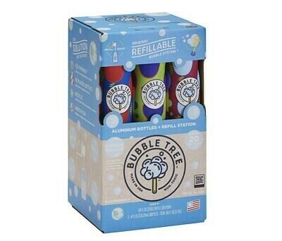 Bubble Tree 3-Bottle w/Refillable Bubble
